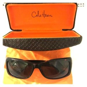 Like new Cole Haan sunglasses with case